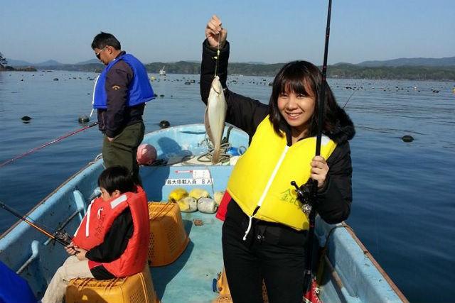 【宮城・釣り体験】手ぶらで船釣り!穏やかな湾内の開催で、景色も楽しめます
