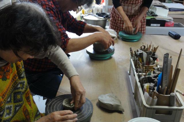 【岩手・陶芸体験・手びねり】世界に一つだけの器を作ろう!手びねり体験