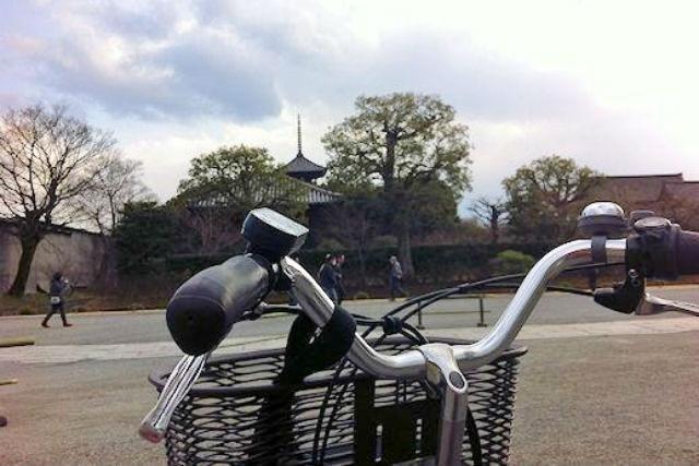 【京都市・レンタサイクル】京都の町をマイペースで観光できる!1日プラン