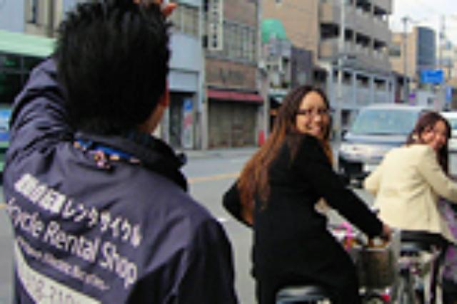 【京都・レンタサイクル】桜や紅葉の名所めぐりにどうぞ!春秋限定・1日プラン