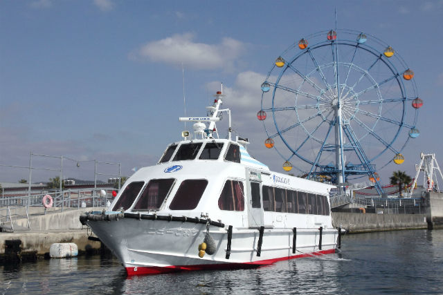 【広島・クルージング】マリーナホップから世界遺産の宮島へ!高速船で25分のクルージング