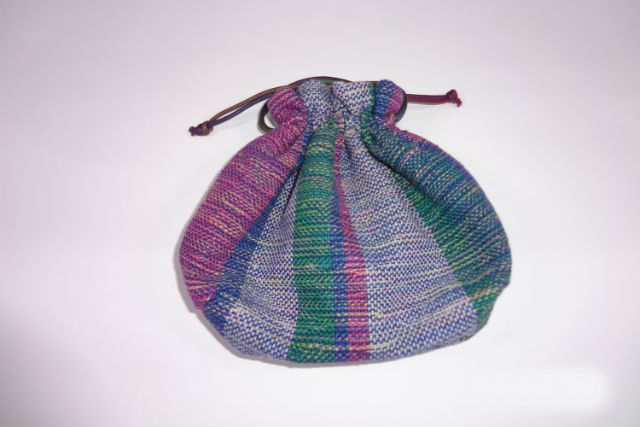 【山梨・大月市・織物体験】自分プロデュースで巾着袋をつくろう!