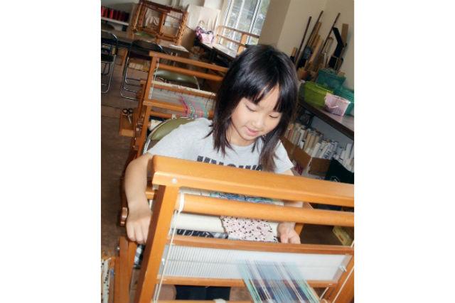 【山梨・大月市・織物体験】世界にたったひとつのマフラーが完成!