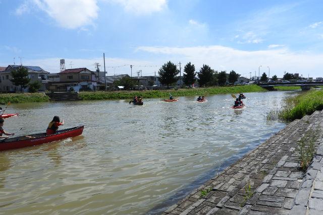 【宮城・石巻・カヌー】ビギナー向け!環境や自然と親しむ、北上運河カヌー体験