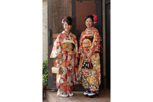 【京都・着物レンタル・振袖】街めぐりプラン!凛として、華やかに。振袖姿で京都の街散策
