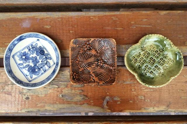 【埼玉・所沢・陶芸体験】和柄の豆皿3枚が作れる!大人の女性にオススメの陶芸体験