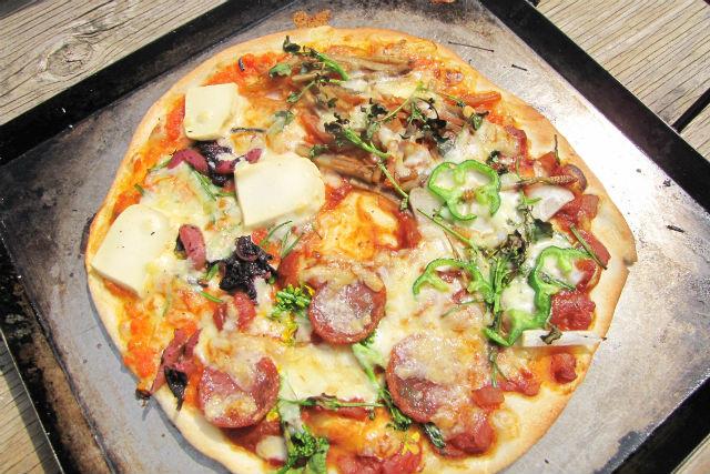 【福島・手作りピザ】標高650mの高原へ!本格石窯ピザ焼き&薪割り体験