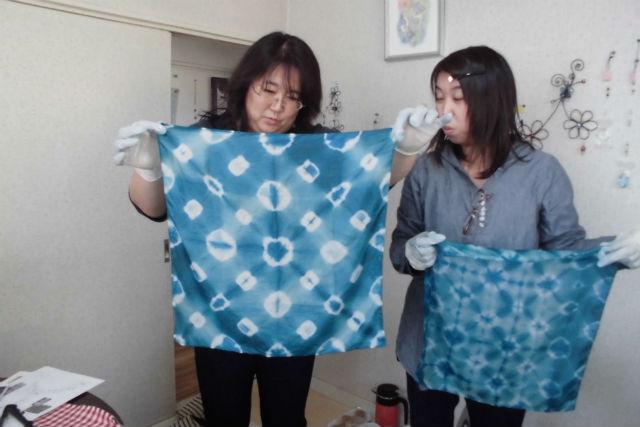 【岩手・大槌町・藍染体験】被災地で藍を育てる1年プロジェクト!藍染めのハンカチをつくろう!