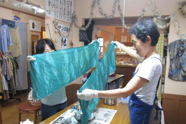 【岩手・大槌町・藍染体験】被災地で藍を育てる1年プロジェクト!藍染の手ぬぐいをつくろう!