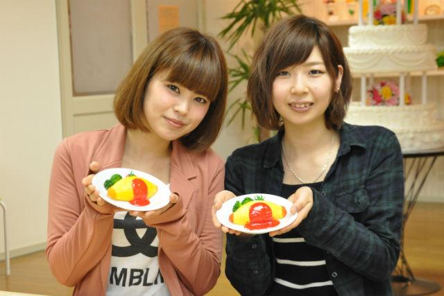 【岐阜・食品サンプル体験】洋食屋さんのオムライス。樹脂をオーブンにかける本格派!
