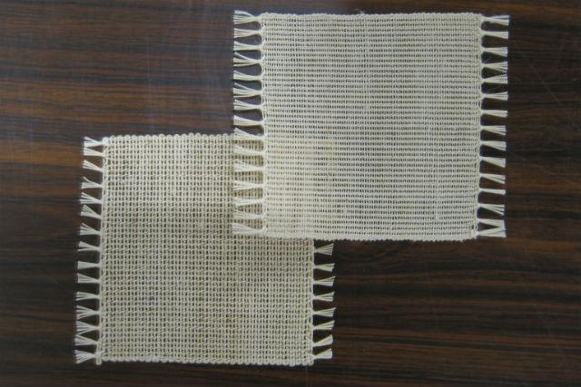 【福島・昭和村・機織り体験】軽くて丈夫な高級織物!からむし織でコースターをつくろう