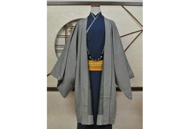 【京都・嵐山・着物レンタル】メンズ着物で粋に!ぴったりサイズが見つかります