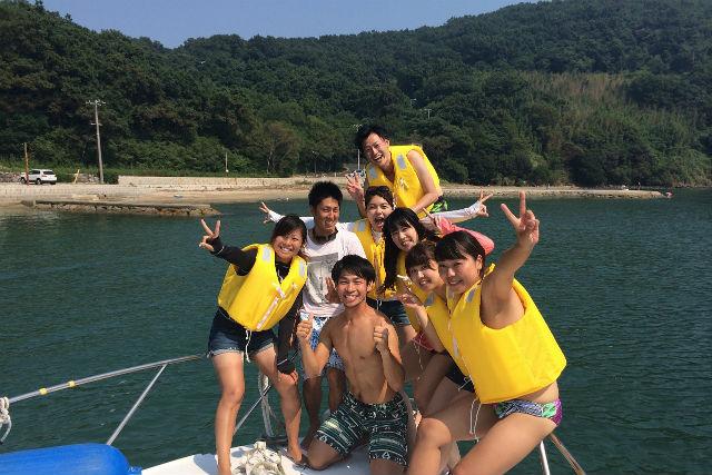 【香川・小豆島・クルージング】小豆島の新しい魅力が満載!無人島クルージング