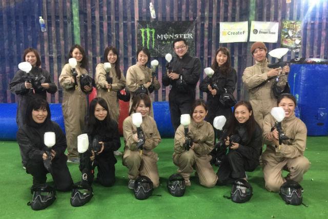 【札幌・ペイントボール】家族や仲間で、チーム戦を楽しもう!アグレッシブプラン(5~7ゲーム)