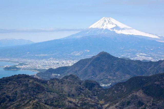 【静岡・エコツアー】ロープウェイ&漁港ランチつき♪葛城山から富士山の絶景を眺めよう!