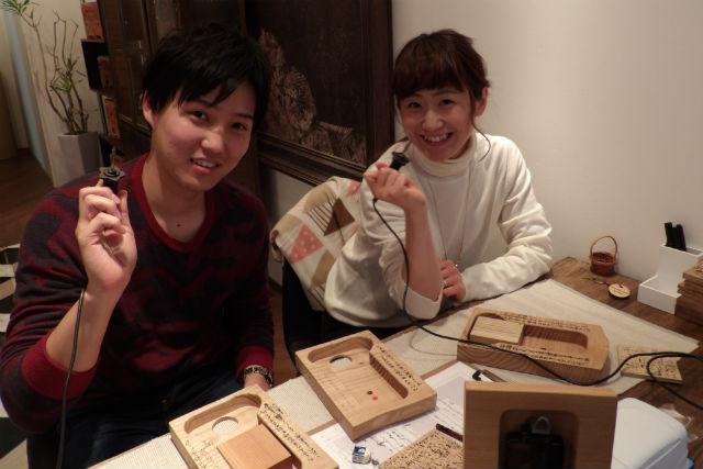 【神戸・時計作り】心をこめて作ろう!木のぬくもりあふれる3連時計