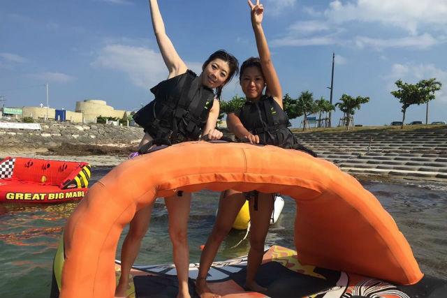 【沖縄・マリンスポーツ】女性限定!お得なマリンスポーツ180分遊び放題プラン(貸切)