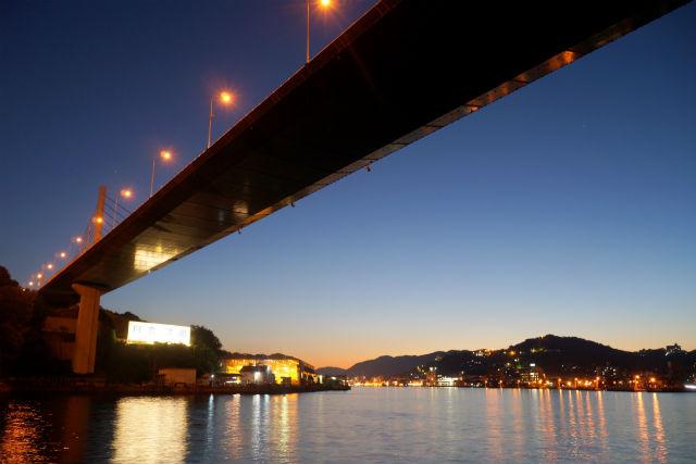 【広島・尾道・クルージング】日本遺産の夜景を満喫。尾道水道クルーズ・夕波小波コース