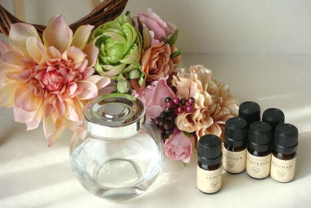 【群馬・アロマ体験】香りを選べる、ソラフラワーを手作りしよう!