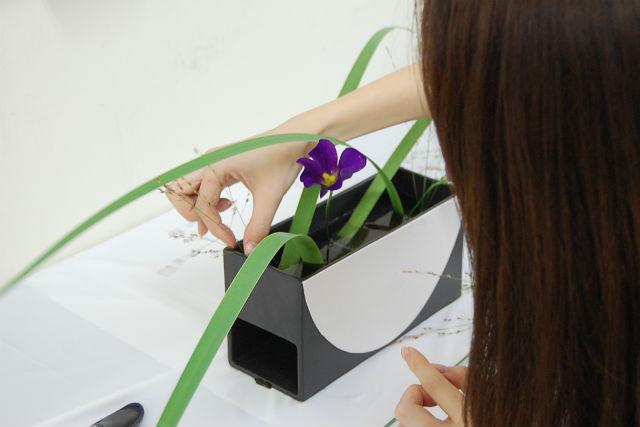 【宮城・仙台・生け花】じっくりと花に向き合う、本格的いけばな体験