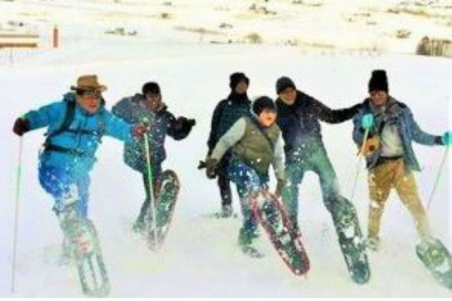 【北海道・富良野・スノーシュー】ふわっふわの新雪の世界へ!十勝岳ツアー・半日コース