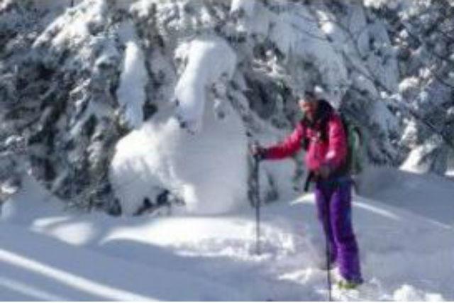 【北海道・富良野・スノーシュー】ふわっふわの銀世界へ!十勝岳ツアー・ランチ&温泉付き1日コース