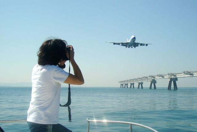 【大阪・クルージング】飛行機を間近で撮影!関西国際空港フォトプラン