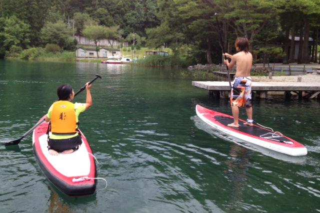 【長野・大町市・SUP】「北アルプスの鏡」と呼ばれる湖へ。青木湖クルーズ(レンタルのみ)