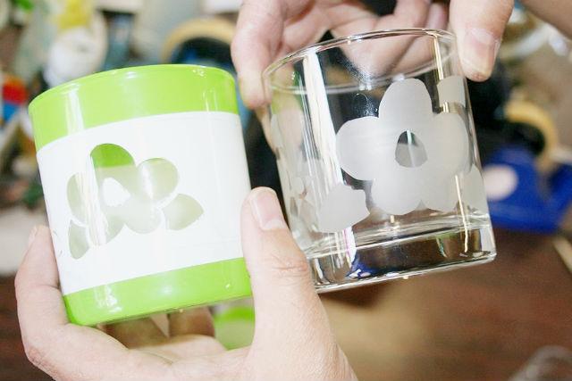 【熊本・ガラス細工】日本遺産・人吉球磨でオリジナルグラスをつくろう!サンドブラスト体験