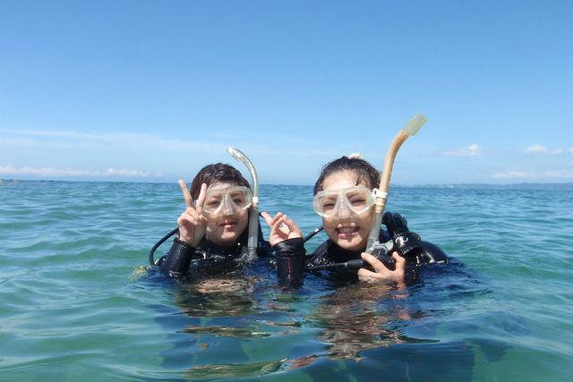 【和歌山・ファンダイビング】初心者ダイバー&ブランクダイバー向け1ビーチ1ボートリフレッシュダイビング