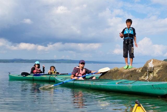【福井・カヤック】ランチは浜焼き!カヤックで楽しむ、能登島クルージング