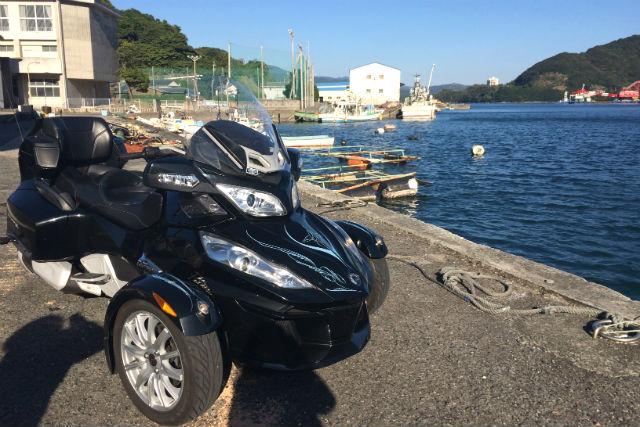 【愛媛・バイクレンタル】日本で珍しい「リバーストライク」を体験!(2時間レンタル)