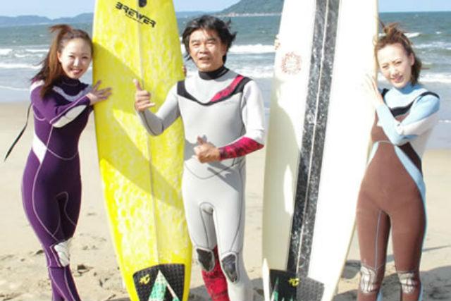 【佐賀・唐津立神・サーフィン体験】初心者からスキルアップ!5歳から参加OKの充実レッスン!