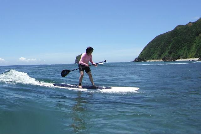 【沖縄北部・SUP・3~4時間】波に乗れた爽快感は格別!SUP波乗りコース(写真撮影付)