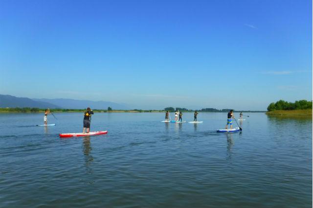 【滋賀・琵琶湖・パラグライダー】空と水上から琵琶湖を満喫しよう!SUP&パラグライダー
