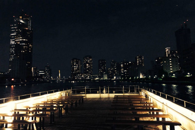 【東京or横浜発・貸切クルージング】寿司職人が同乗します!寿司プラン(40名以上)