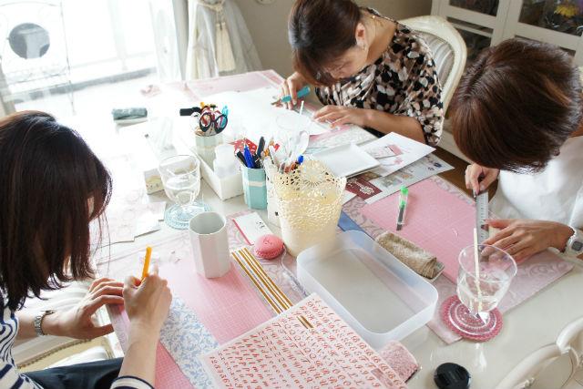 【埼玉・川口・ポーセラーツ】好きなデザインで作る、自分だけの雑貨小物に挑戦!