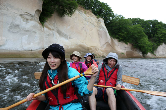 【北海道・十勝・Eボート】北海道の手付かずの自然に大興奮!絶景・大自然コース