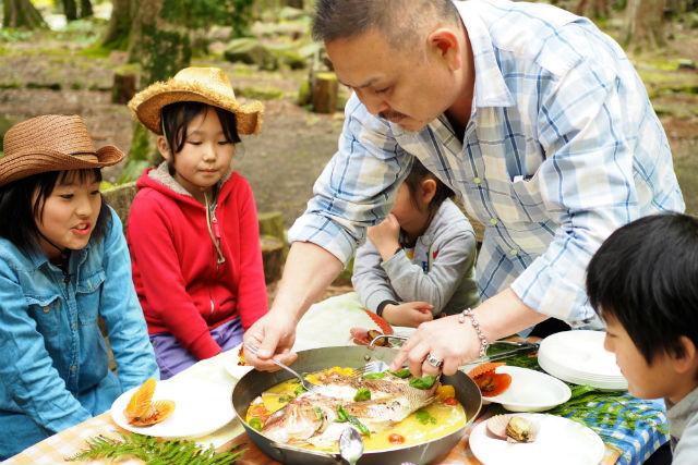 【愛媛・宇和島・BBQ】森林浴しながらBBQを楽しむ、松野町コース