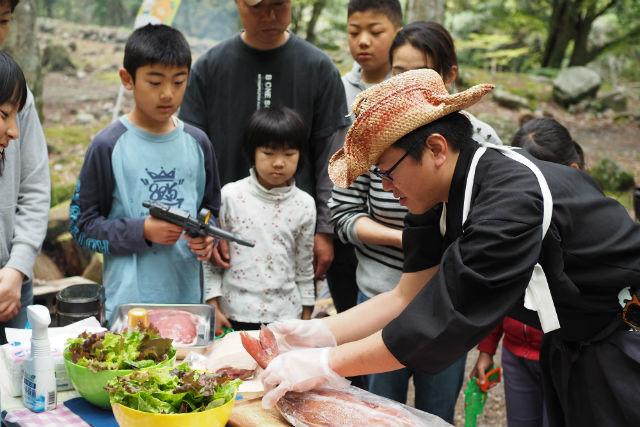 【愛媛・宇和島・BBQ】これぞBBQ!ワイルドステーキ&野菜の充実コース