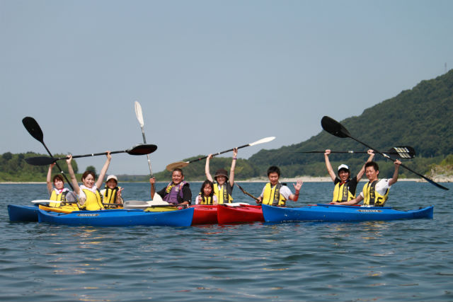 【徳島・カヤック】水の美しさに感動!四国最大「吉野川」でカヤックツアー(3時間)