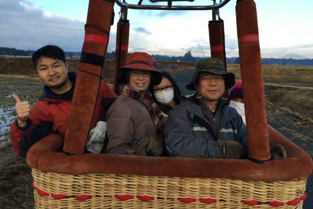【静岡・御殿場・熱気球体験】富士山を空から見てみよう!御殿場エリアフライト体験