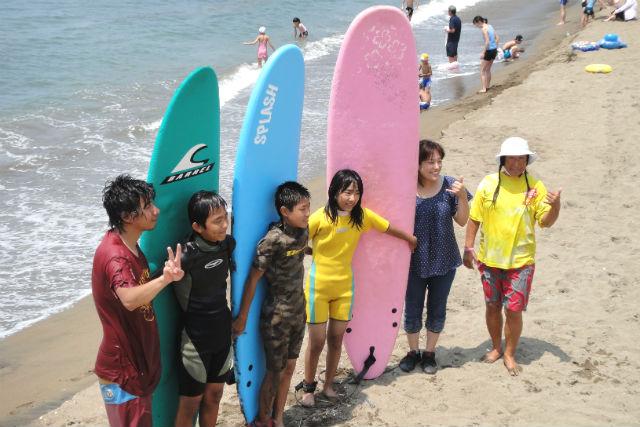 【福井・三国・サーフィン】親子で楽しく学ぼう!連盟公認講師が教える親子サーフィンスクール