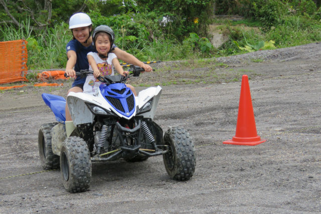 【沖縄・やんばる・ガイドツアー】4歳から参加OK!大自然をバギーで駆け抜けよう