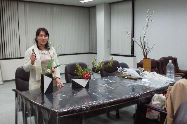 【宮城・仙台・生け花教室】指導歴25年以上の講師によるレッスン!初心者や男性も気軽にどうぞ
