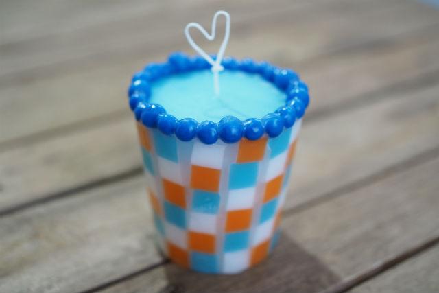【栃木・キャンドル作り】夏におすすめ!透き通るカラーが涼しげなタイルキャンドル