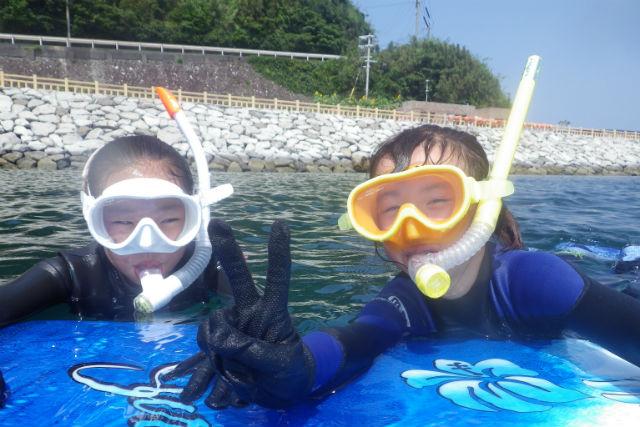 【長崎・シュノーケリング】2歳から参加OK!高島の海、サンゴ礁で遊ぼう