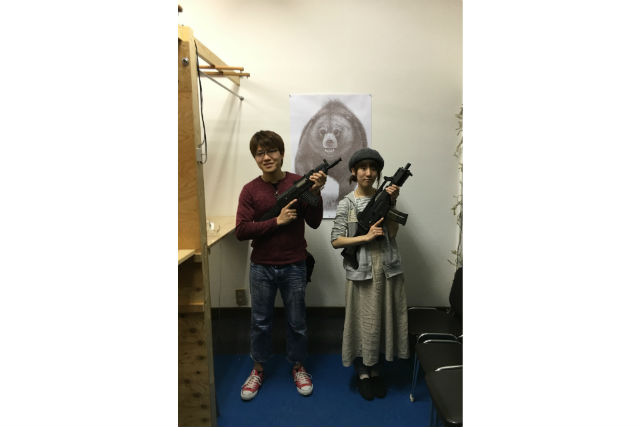 【大阪・射撃場】銃持ち込み、60分グループ貸切シューティングプラン(4~6名)