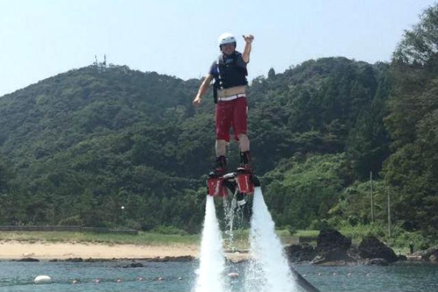 【兵庫・フライボード】高さ無制限がうれしい!経験者向けフライボードプラン(2回)