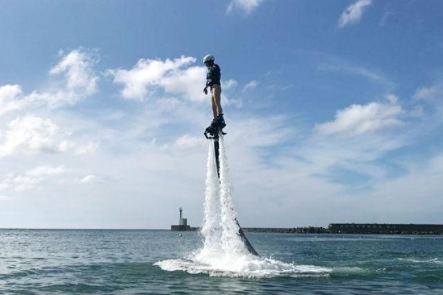 【兵庫・フライボード】高さ無制限!経験者向けフライボードプラン(1回)